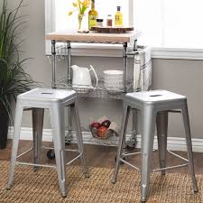 Stool For Desk Tabouret 24 Inch Metal Counter Stools Set Of 2 Free Shipping