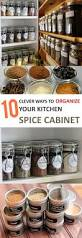 10 clever ideas to organize your kitchen spice cabinet page 4 of
