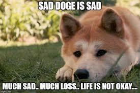 Sad Okay Meme - sad doge memes imgflip