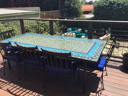 Mosaic Patio Table And Chairs by Furthur Steve Clark Clarkliving