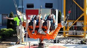 New York To Six Flags New Jersey Sling Shot Ride At Six Flags Great Adventure Jackson Nj Youtube