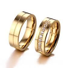 classic designs rings images Shuangr classic design wedding rings for women men gold three band jpg