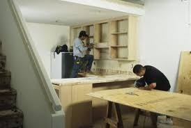Installation Of Kitchen Cabinets by How To Install Kitchen Cabinet Hangers Home Guides Sf Gate