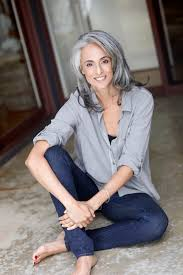 good grey hair styles for 57 year old the 25 best going gray ideas on pinterest going gray gracefully