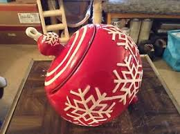 real home white ornament cookie jar ebay