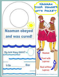 bible fun for kids elisha u0026 naaman