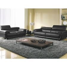 canapé et fauteuil en cuir fauteuil en cuir baya la maison du canapé pas cher à prix auchan