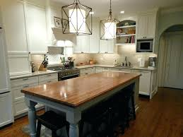 kitchen island with butcher block diy butcher block kitchen island doublexit info