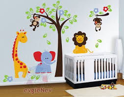 Safari Nursery Wall Decals 19 Wall Decals For Baby Room 25 Best Nursery Wall Decals Ideas On