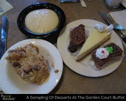Buffet At The Wynn by Five Desserts Including Bread Pudding And Cheesecake At The Main