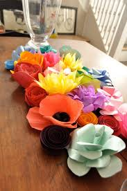 paper flower centerpieces 87 best paper flowers images on paper flowers