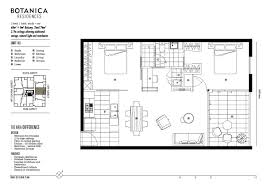 apartment floorplans floor plans botanica residences