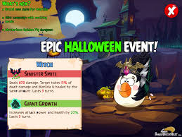 halloween island dragon city angry birds epic u201challoween u201d special event angrybirdsnest
