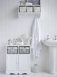 White Wood Free Standing Bathroom Storage Cabinet Unit by A Crisp White Freestanding Bathroom Storage Furniture A Narrow