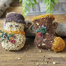 season s seed greetings ornaments set of 3