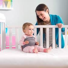 Vinyl Crib Mattress Lullaby Earth Baby Crib Mattresses Accessories Lullabyearth