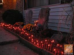 Diy Halloween Yard Decorations Briliant Halloween Decorating Ideas For The Yard The Home Depot
