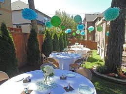 Backyard Parties Best 25 Backyard Baby Showers Ideas On Pinterest Baby Q Shower