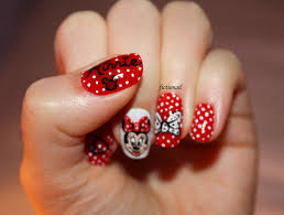 minnie mouse gel nail designs best nail 2017 minnie mouse nail