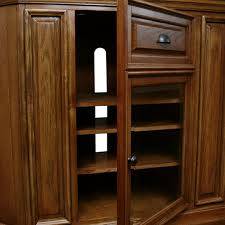 Corner Tv Cabinets For Flat Screens With Doors Built In Corner Tv Cabinet Counter Refinished Custom Tall Cabinets