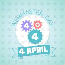 webmaster calendar for each day on april 4 webmaster day vector image calendar for each day on april 4 webmaster day click to zoom