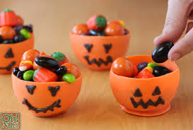 Halloween Cups Edible Pumpkin Candy Chocolate Cups For Halloween Oh Nuts Blog