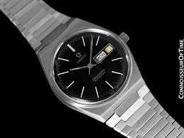 stainless steel bracelet omega watches images 1978 omega seamaster vintage mens bracelet watch automatic day jpg