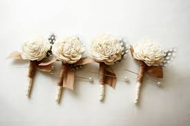 wedding boutonniere rustic wedding boutonniere blossom woodland ivory flower 3 showcse