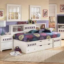 Headboard Bookshelf Kids Bookcase Elegant Furniture Design