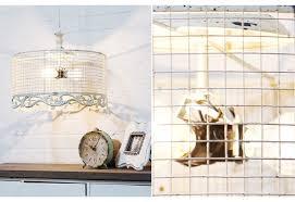 Chicken Wire Chandelier Metal Wire Light Fixture Farmhouse Decor Chicken Wire Light