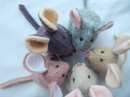 mouse sewing pattern pdf 4 inch tall wool felt toy party