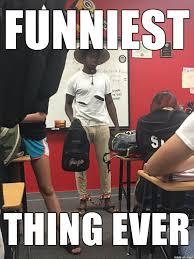 Throwback Thursday Meme - boy takes throwback thursday a little too far and dresses as a