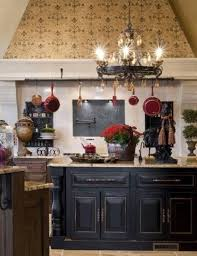 black round french country style chandeliers for kitchen with
