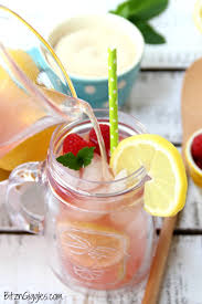 Pink Cocktails For Baby Shower - homemade pink lemonade bitz u0026 giggles