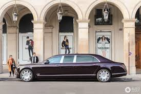bentley limo bentley mulsanne grand limousine 17 april 2017 autogespot