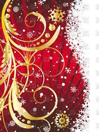 vertical christmas card vector clipart image 81464 u2013 rfclipart