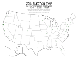 2016 Election Map Xkcd 1939 2016 Election Map Xkcd