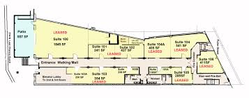 Retail Space Floor Plan Retail Level U2013 Walking Mall U2013 Professional Office Space U2013 The Lion