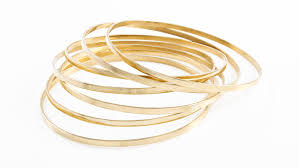 gold bangle bracelet sets images 14k solid yellow gold bangle bracelets set of 7 jpg