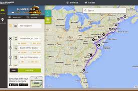 Road Trip Map Daydreaming And Sightseeing East Coast Road Trip With The Family