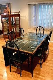 repurposed dining table repurposed dining table dining room bench maple 4 repurposed dining