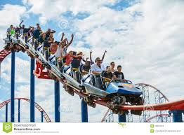 6 Flags Maryland Thrillseekers Ride Roller Coaster Six Flags Amusement Park