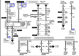 ford f250 trailer wiring 2001 ford f250 duty fuse wiring diagram trailer owners manual