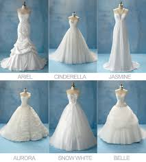 disney princesses wedding dress collection by alfreda angelo