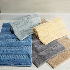 Bathroom Rug by Frame Loom Woven Cotton Rug Collection Bath Rugs U0026 Bath Mats