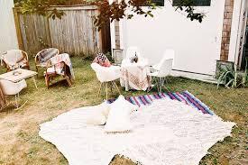 Baby Shower Outdoor Ideas - bohemian backyard baby shower by sunshine charlie baby showers