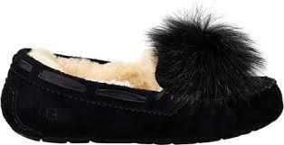 ugg womens driving shoes womens ugg dakota pom pom moccasin free shipping exchanges