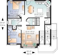 multifamily house plans multi family plan 64883 at familyhomeplans com