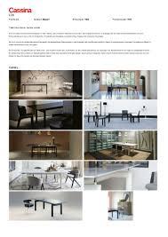 Unterschiedliche Esszimmerst Le Cassina Lc6 Tisch Von Le Corbusier Pierre Jeanneret Charlotte