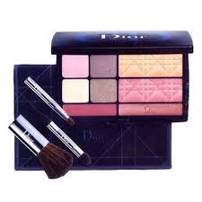 cestovní paletka dekorativní kosmetiky travel in dior make up palette collection voyage